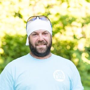 Dustin Wood, crew leader