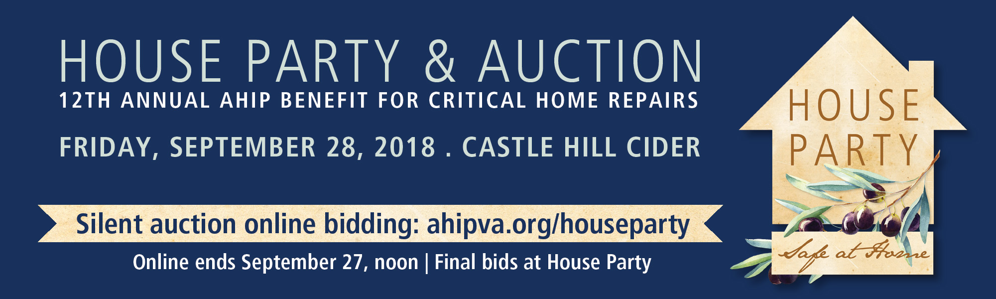 AHIP House Party Auction