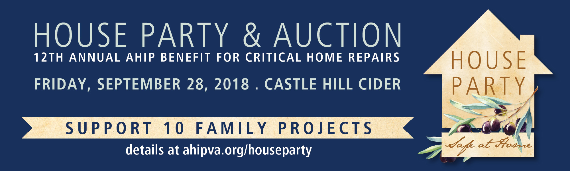 AHIP House Party Collective Giving to Help 10 Families