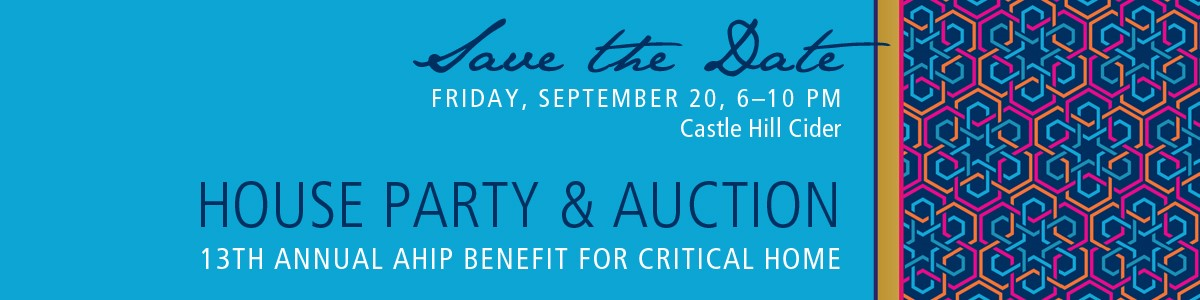 AHIP House Party & Auction September 20 at Castle Hill Cider