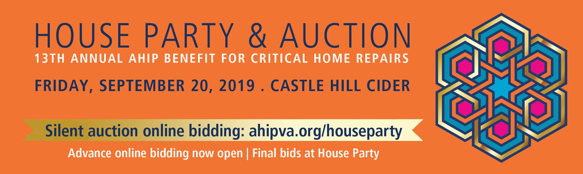Support AHIP's silent auction during House Party