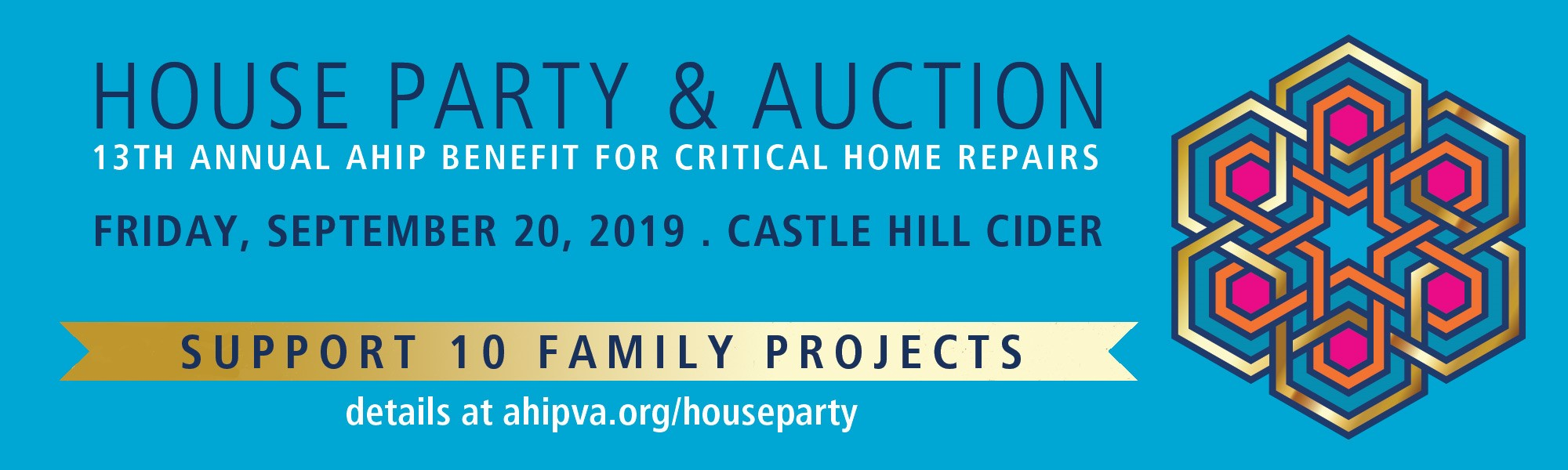 Support 10 Local Family Projects during House Party