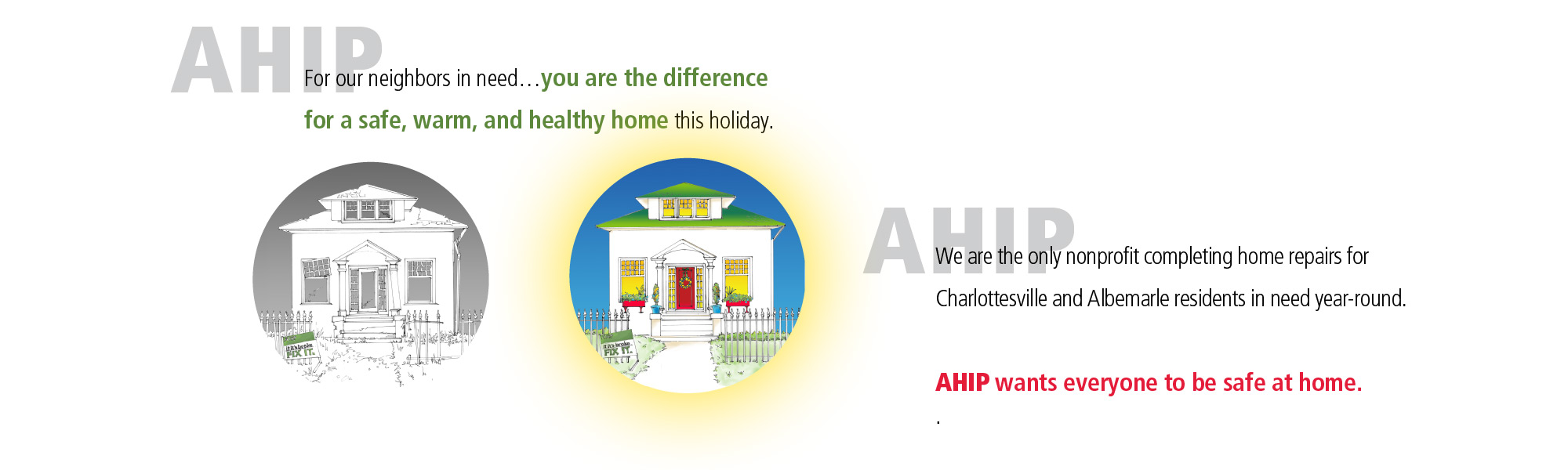 Support AHIP Holiday Campaign to Keep Repair Services Strong for Neighbors in Need